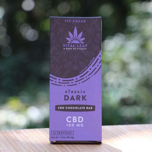 Classic Dark CBD Chocolate Bar