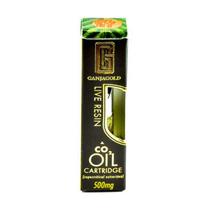 Ganja Gold Live Resin Oil Cartridges