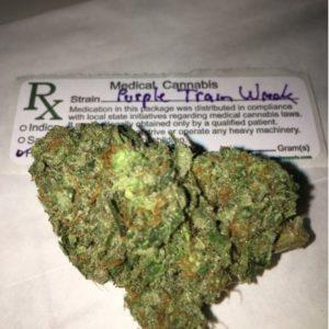 Purple Trainwreck Medical Strain